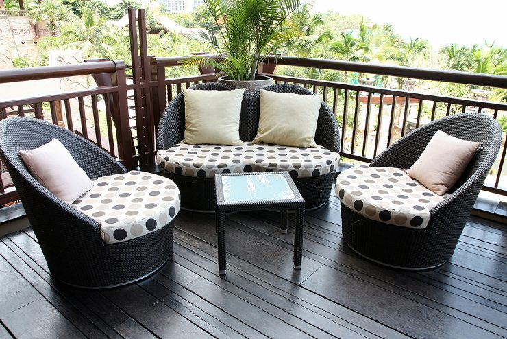 rattanm bel vom korbstuhl zum luxusm bel mit exotischem. Black Bedroom Furniture Sets. Home Design Ideas